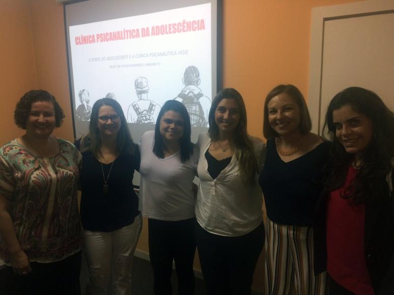 Curso: Clínica Psicanalítica da Adolescência - Prof.ª Dra. Sylvia Labrunetti